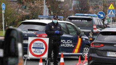 Más de 2.300 policías nacionales y guardias civiles, en casa con síntomas de coronavirus