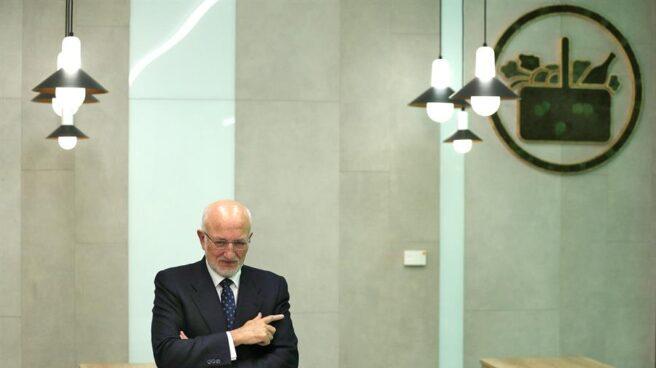 Juan Roig, en la presentación de resultados de Mercadona