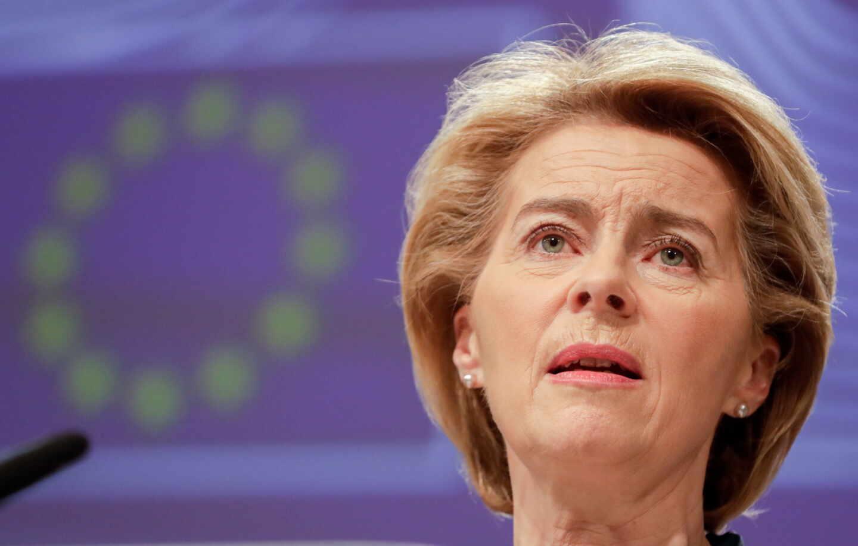 Ursula von der Leyen coronavirus