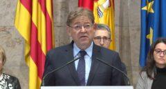 """Ximo Puig: """"Lo que está pasando es un cierto movimiento independentista en Madrid"""""""