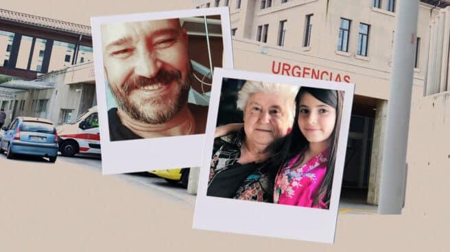 Javier Mantrana (49 años) y María Antonia Doncel (79), enfermos de coronavirus dados de alta en la Comunidad de Madrid. Imagen: Carmen Vivas