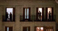 España vuelve a los balcones: sexto día de ovación masiva para los sanitarios
