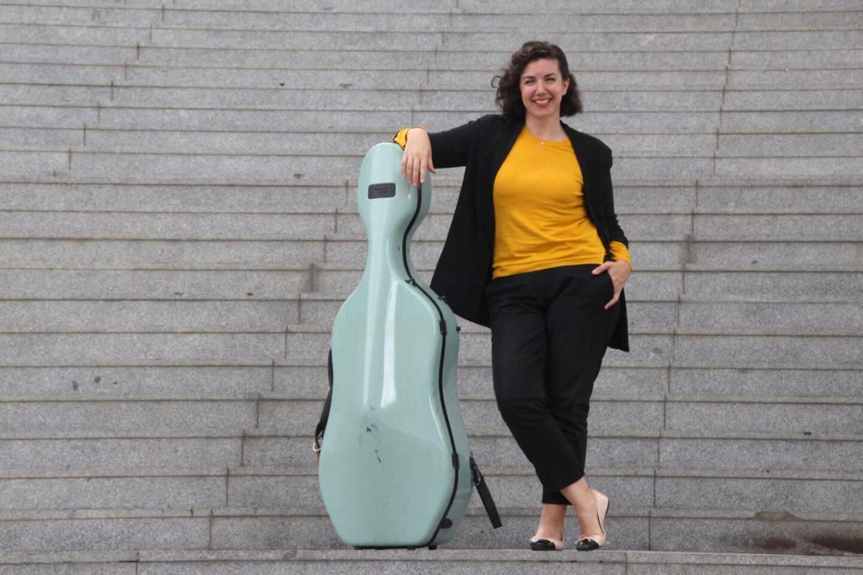 La violonchelista gaditana Beatriz González Calderón.