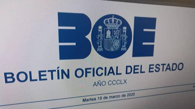 El Boletín Oficial del Estado.
