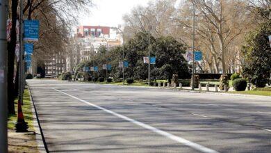 Calles vacías y colegios desiertos: el coronavirus deja Madrid a medio gas
