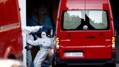 La UME trabaja ya en el Palacio de Hielo de Madrid para recibir los primeros cadáveres