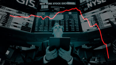 El Ibex sufre la peor caída de su historia al desplomarse un 14,06%