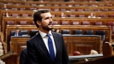 """Casado responde a la llamada de unidad del presidente: """"Señor Sánchez, no está solo"""""""