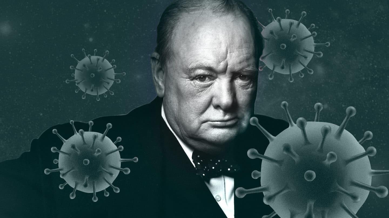 Churchill, arma verbal contra el coronavirus