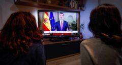El mensaje de Felipe VI fue el más visto de la historia en televisión pese a la cacerolada