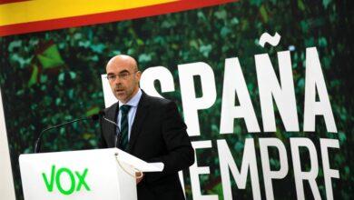 """Vox advierte que no pactará con Feijóo si sigue apelando al """"nacionalismo"""" gallego"""