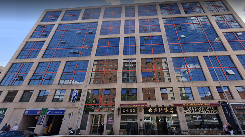 Edificio madrileño propiedad del fondo buitre Blackstone.