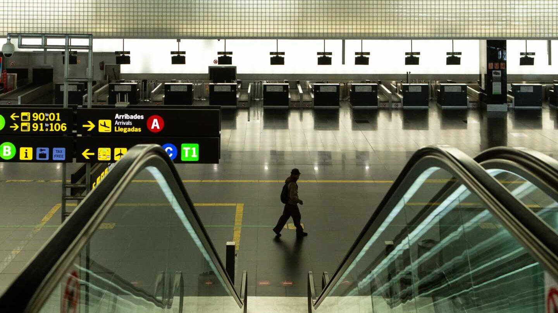 El aeropuerto de Barcelona-El Prat esta semana.