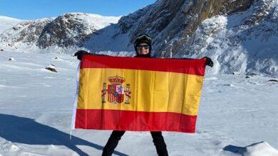 Loreto Rincón, primera española que cruza el Círculo Polar ártico en bicicleta
