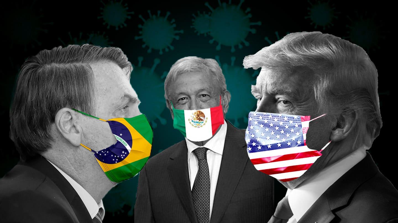 Los líderes mundiales más negligentes en la batalla contra el coronavirus