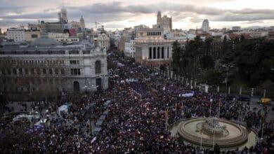 Madrid teme un fuerte repunte de casos tras cumplirse 14 días de la manifestación del 8-M