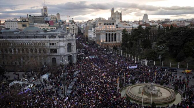 La Delegación del Gobierno en Madrid prohíbe todas las manifestaciones y concentraciones por el 8M