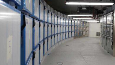 Así es la morgue provisional de la Ciudad de la Justicia