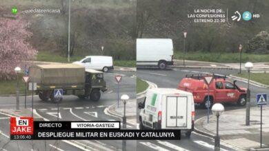 Un hospital de campaña en Álava: la acción del Ejército que el Gobierno planea en el País Vasco