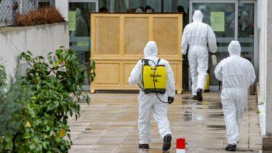 La UME encuentra once cadáveres en una residencia de Leganés