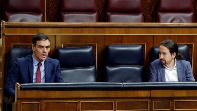 """Sánchez ofrece una reunión para negociar los nuevos Pactos de la Moncloa y Unidas Podemos replica que """"no es el momento"""""""