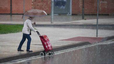 Las lluvias y tormentas ponen en riesgo al norte peninsular, Murcia y la Comunidad Valenciana