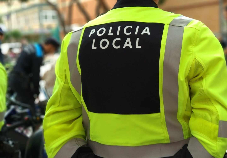 Un agente de la Policía Local.