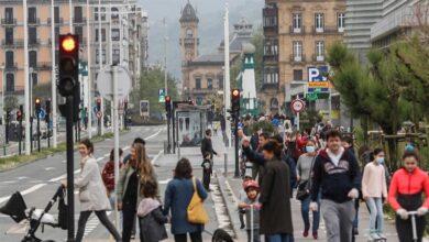 Euskadi supera ya la ola de Navidad al disparar los casos y entrar en 'zona roja'