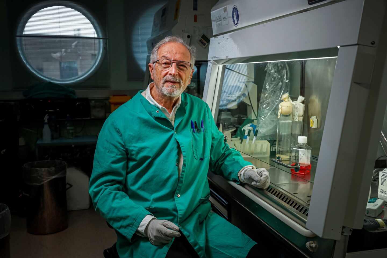 Luis Enjuanes, del laboratorio de Coronavirus del Centro Nacional de Biotecnología