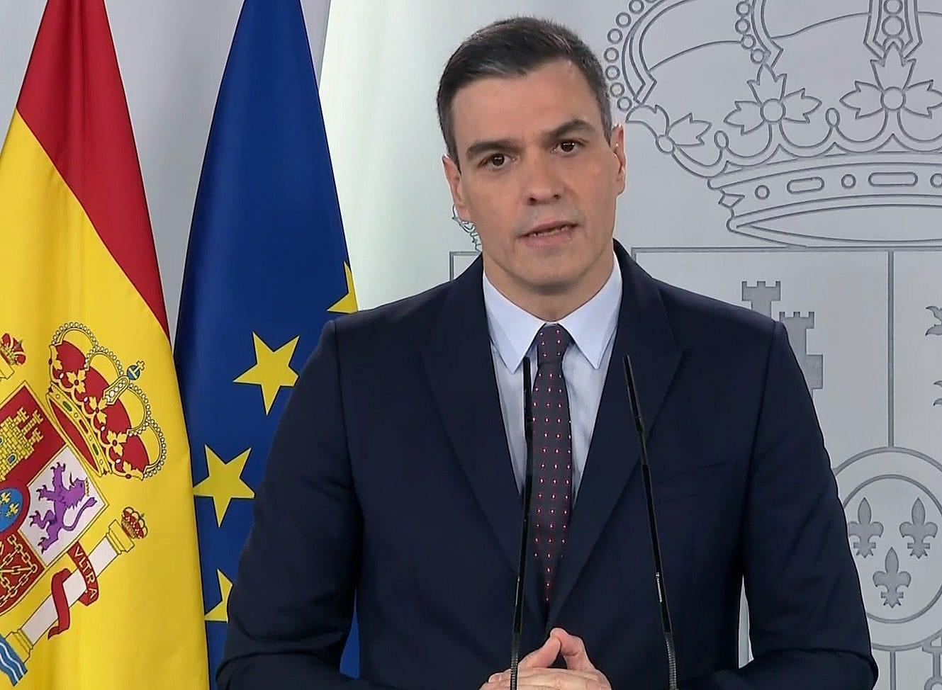 Sánchez anuncia que a partir del 2 de mayo se permitirán los paseos y el ejercicio físico