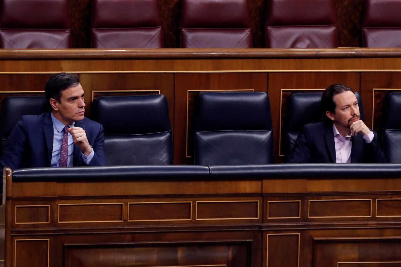 """Sánchez justifica por qué ocultó a Iglesias la fusión bancaria: """"Era información sensible"""""""