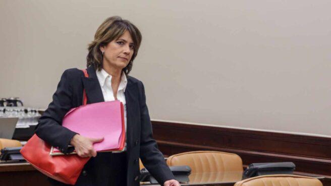 Dolores Delgado, fiscal general del Estado, en el Congreso durante su etapa de ministra de Justicia.
