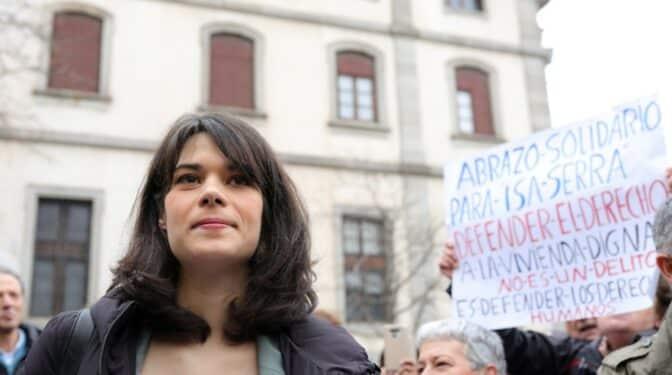 """La defensa de Isabel Serra dice que fue condenada por un atestado policial lleno de """"corta-pegas"""""""