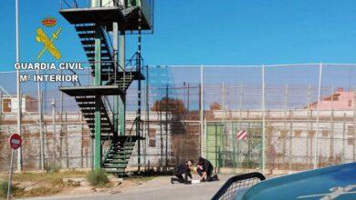 Melilla registra uno de los saltos de la valla más violento de los últimos meses