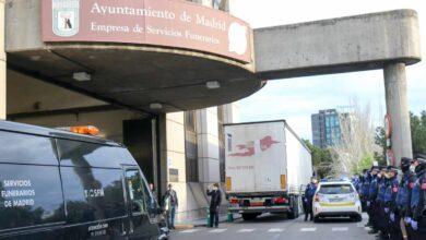 Madrid avisa que las cifras de muertos en la capital multiplican por seis a las de 2019