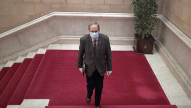 Torra reta a Podemos a abandonar el Gobierno para responder a la salida del rey emérito