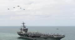 Dan positivo por coronavirus 550 marines a bordo del portaaviones Theodore Roosevelt
