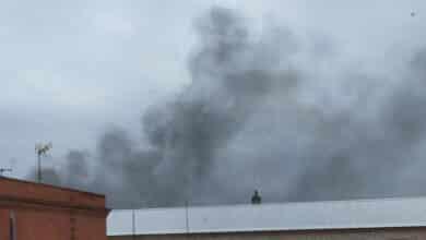 Plante de presos y quema de papeleras en Ocaña I en protesta por la ausencia del médico de la prisión