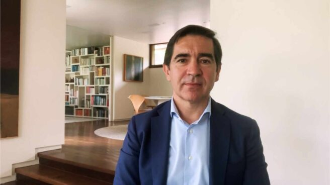 El presidente de BBVA, Carlos Torres, presenta los resultados de la entidad