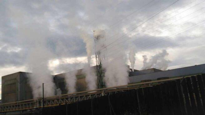 Planta de ArcelorMittal en Asturias.
