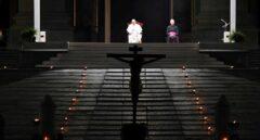 Insólito Via Crucis del Papa en El Vaticano