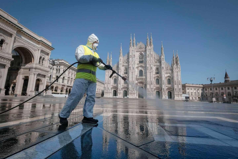 coronavirus-Italia-Milán-UE