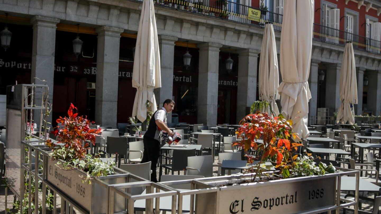 Los hosteleros de Madrid creen que sólo el 5% abrirá con el paso a la fase 1