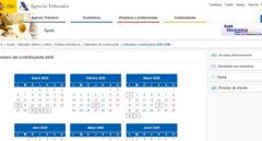 Calendario fiscal en tiempos de coronavirus. Así quedan finalmente los plazos