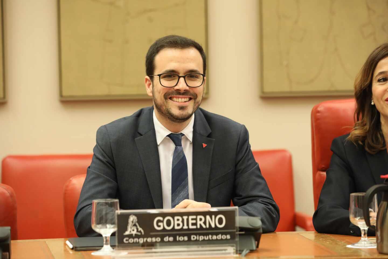 El ministro de Consumo, Alberto Garzón.