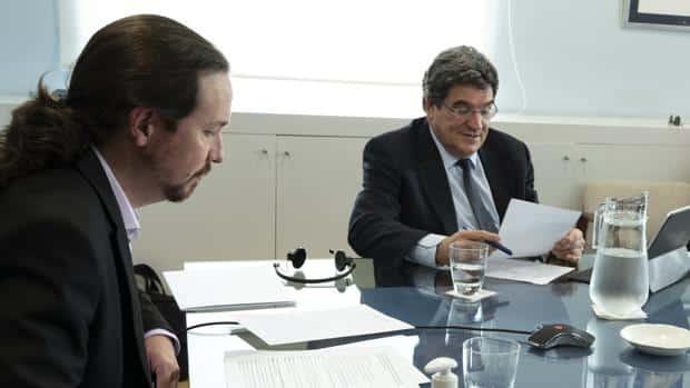 Unidas Podemos presiona a Escrivá para aprobar el ingreso mínimo la próxima semana