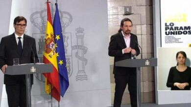 Iglesias reprochó a Sánchez el lío de los niños y apunta a Calvo como responsable