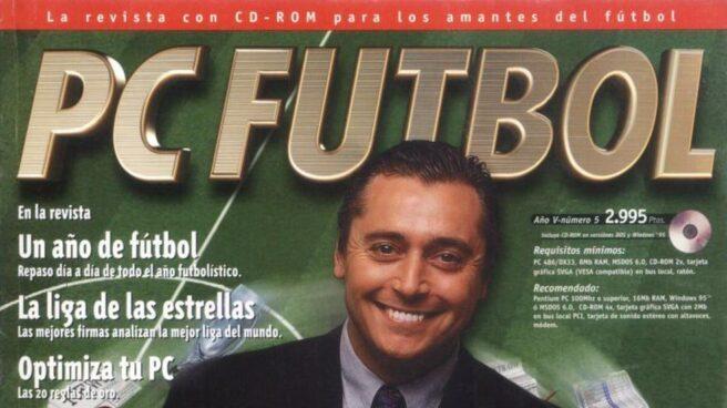 Michael Robinson fue la imagen del PC Fútbol