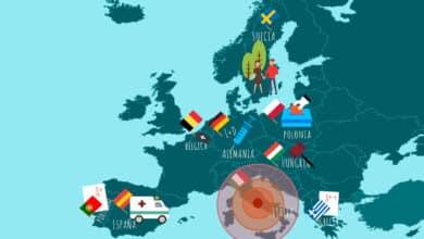 Las mil caras de Europa frente al Covid: del milagro griego a la mano dura de Orban