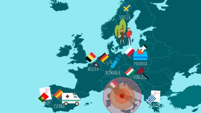 Las mil caras de Europa frente al Covid: del milagro griego a la mano dura de Orban - El Independiente
